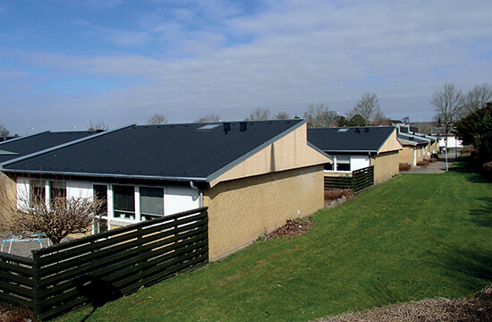 Roof top success for residents and roofers in Denmark houses