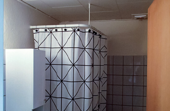 Roof top success for residents and roofers in Denmark bathroom